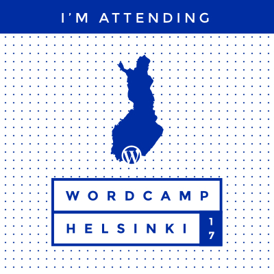 WordCamp Finland 2017